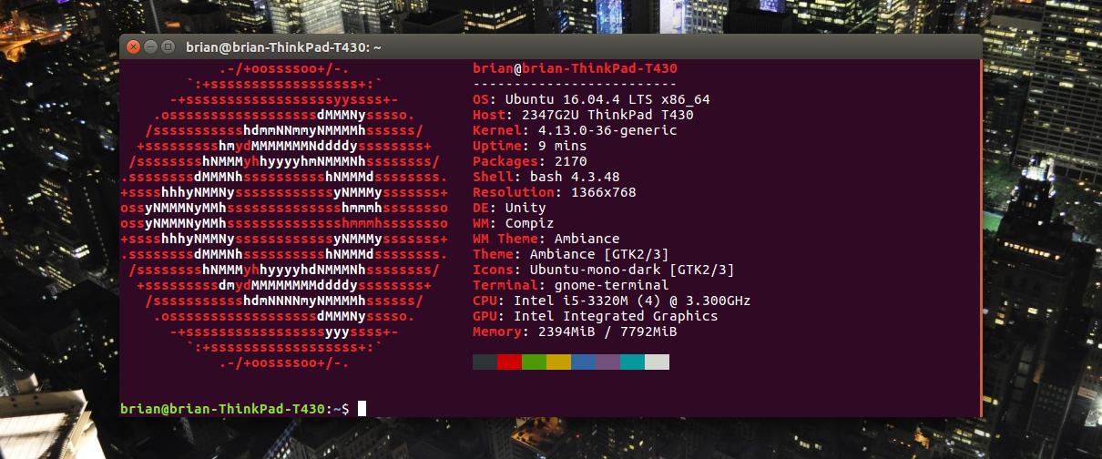 Ubuntu 16 04 4 Installation and Setup Notes